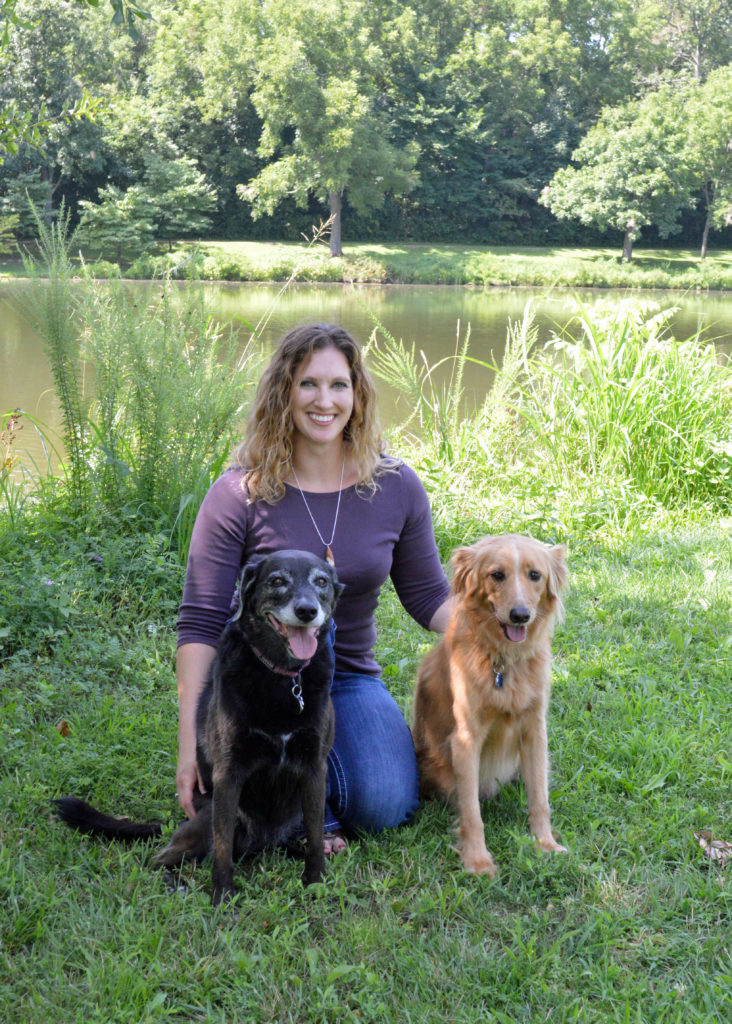 Dr. Melissa Risan - The Traveling Vet - and her 2 dogs Syren and Dega